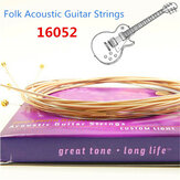 Elixir Nanoweb Phosphor Bronze 16052 Light Folk Acoustic Guitar String .012~.053