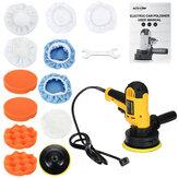 Kit de máquina de polimento para lixadeira de polimento de carro e polidor de carro 110V-130V 600W Almofada de polimento Capô de cera