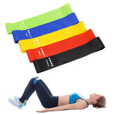 BOER 5PCS/Set Elastic Resistance Band Rubber Loop for Yoga Pilates Stretching Home Fitness Training Equipment