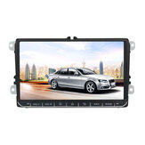 9 Inch for Android 8.1 Car Stereo MP5 Player 1+16G Quad Core 2 DIN Touch Screen GPS bluetooth WIFI for VW Skoda Seat