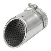 35-65mm Stainless Exhaust Muffler Pipe Silencer Tip Modification Universal for Car SUV