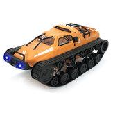 Eachine EAT06 1/12 2.4G Deriva RC Carro de Tanque Modelos de Veículos de Controle Proporcional Cheio de Alta Velocidade Com Luz Principal