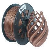 CCTREE® 1.75 مم 1 كجم / لفة معدنية من البرونز / خيط مملوء بالنحاس ل Creality CR-10 / Ender 3/Anet