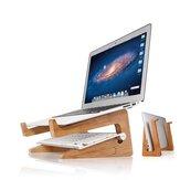 ウッドデスク冷却ラップトップStand Holderノートブック/ラップトップ/タブレットPC / Macbook / iPad用