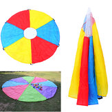 2M Kids Play Rainbow Parachute Outdoor Children Game Development Exercise Activity Sports