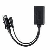8Pin Car Bluetooth 5.0 Kabel Aux Audio Adapter USB Zestaw głośnomówiący z mikrofonem bezstratnym MIC dla Alpine KCM-123B M-BUS 9501 9503 9823 9825