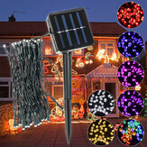 Outdoor Zasilany energią słoneczną 5.2M 50 LED Fairy String Light Yard Garden Path Chirstmas Lamp