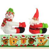 WeihnachtenFlascheDekorationenRequisitenPuppeSchneemann Old Man Spielzeug für Kinder Chilldren Geschenk