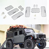 5PCS 1/10 RC garde chenille en acier inoxydable Windows Guard pour Traxxas TRX-4 TRX4