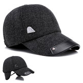 Men Winter Outdoor Sports Baseball Cap Ears Warmer Cap