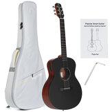 Poputar T1 36 İnç LED Akıllı Gitar Guitare Uygulaması BT5.0 Ladin Maun Akustik Gitar Guitarra Müzik Aletleri Çanta ile