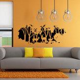58cmx126cm foresta regalo decorazione della parete parete della stanza autoadesivo della parete fulvo cervo della casa della decalcomania arte