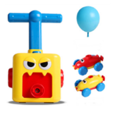 Children Air Powered Balloon Car Baby Blowing Balloon Car Educational Indoor Toys