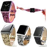 С блестками Часы Стандарты Замена Для Apple Watch Series 1 38 мм / 42 мм