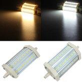 R7s regulável LED lâmpada de 118 milímetros 10w 27 smd 5630 branco puro / morno lâmpada de luz branca AC 85-265V