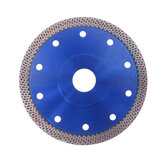 Blue 105-125mm Mesh Turbo Diamond Saw Blade Disc Porcelain Tile Ceramic Granite Marble Cutting Blades For Angle Grinder Diamond Saw Blade