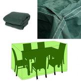 152x104x71cm Mobilier extérieur de jardin abri respirant imperméable de table de couverture de poussière
