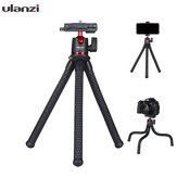 Ulanzi MT-11 Octopus Flexible 1.2KG Payload Black Tripod with 2 in 1 هاتف Clip for DSLR الة تصوير Smartphone