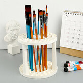 Delicate Painting Tool Pen Holder 49 Hole Rack Pen  Office Supplies  Art Pen
