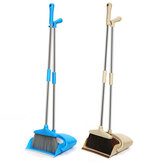 Vertical Windproof Broom Dustpan Set Combination Clean Sweeper Broom Garbage Shovel Floor Cleaning Tools