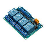 BESTEP 4 Channel 12V Relay Module High And Low Level Trigger For
