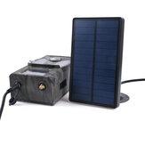 Suntek SP-02 2000mA 9V al aire libre Solar Panel Solar Cargador de fuente de alimentación para Suntek 9V HC900 HC801 HC700 HC550 HC300 Trail Cámara