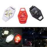 XANES TL04 4 LED IPX4 3 standen Nachtsnelheidsfiets met buitenverlichting