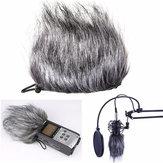 Zoom Mikrofon Muff Pelz Windschutz für Sony D50 H1 HD Rekorder Q3 Q3H2N H4N