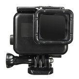 45M Waterproof Protective Housing Case Shell with Touch Screen Back Door for GoPro Hero 7 6 5 Action Sports Camera Black
