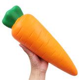 13Inches Jumbo Gulerod Kæmpe Squishy Frugt Vegetabilsk Dukke 33cm Langsom Stigende Toy Kid Pige Gave Indsamling