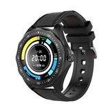 BlitzWolf® BW-HL3 Tela de toque total Coração Monitor de oxigênio de pressão arterial de frequência Trilha de corrida BTV5.0 Smart Watch apenas preto