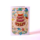3D Vintage Kreatywne kartki z życzeniami Prezent urodzinowy Dekoracja Karta z pozdrowieniami