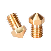 BIGTREETECH® 0.2 / 0.4 / 0.6 / 0.8mm V6 Ugello in ottone per estrusore in titanio Testa a J
