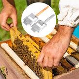 Нержавеющая сталь Bee Улей Раскрытие меда Вилы Скребок Ручка Bee поддержания Набор
