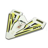 Jumper W280 Dart 280mm Wingspan Indoor Park Flyer Mini Paper RC Airplane BNF for Trainer Beginner