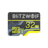 BlitzWolf®BW-TF3 Memory Card dengan Adapter C10 U3 Micro SD Card 64GB Smart Card TF Card 32/64/128 / 256GB untuk Kamera UAV Recorder