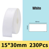 Bakeey Pure Color Scratch-Resistant Thermal Printer Price Label Sticker Printing Paper