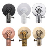 E27 / e26 moderno edison vintage luz de techo lámpara de pared bulb holder socket sconce