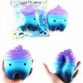 Sanqi Elan 11.8cm Yıldız Sevimli Diş Kek Soft Squishy Süper Yavaş Yükselen Orijinal Paketleme Çocuk Oyuncağı