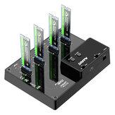 MAIWO K3015P2 2/4-Bay NVME-Dockingstation Typ C zu NVME SSD-Gehäuse-Unterstützung Offline-Klon Dduplicator und System Disk Clone