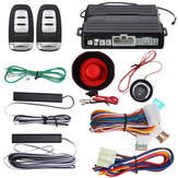 Hopping Code PKE Car Alarm Systeem W Keyless Entry Afstandsbediening Start knop