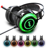 IPega PG-R015 LED Light Suitable Stereo bass Gaming Headset Headphone with Mic for PS4 for XBoxs for One N-Switch PC Mobile Phone
