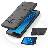 Bakeey 2 in 1 Armor Kickstand Hard PC Protective Case for Samsung Galaxy A8 Plus 2018