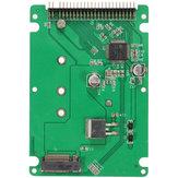 Adapter konwertera M.2 NGFF SATA SSD na 2.5 IDE z etui