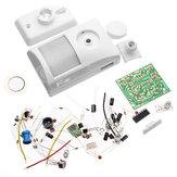 3Pcs Kit de alarme eletrônico infravermelho Electronic DIY Learning Kit