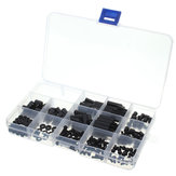 Suleve™ M3NH2 M3 Nylon Screw Black Hex Screw Nut Nylon PCB Standoff Assortment Kit 260Pcs