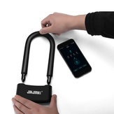 BIKIGHT 810 Alloy bluetooth Smart Control U-Shaped Lock Anti-theft Removal-proof Bike Lock