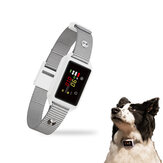 ZANLURE Smart AI Dog Bark Control Device Double Recognition Anti-mistouch System Magnetic Bark Arrester Color Screen Dog Training Collar