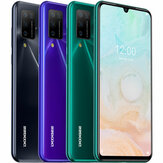 DOOGEE N20 Pro Global Version 6.3 inch FHD + 6GB 128GB Helio P60 Android 10 4400mAh 16MP Quad achteruitrijcamera Octa Core 4G Smartphone