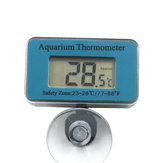 Aquarium Thermometer Submersible High-precision Digital Waterproof Thermometer AT-1